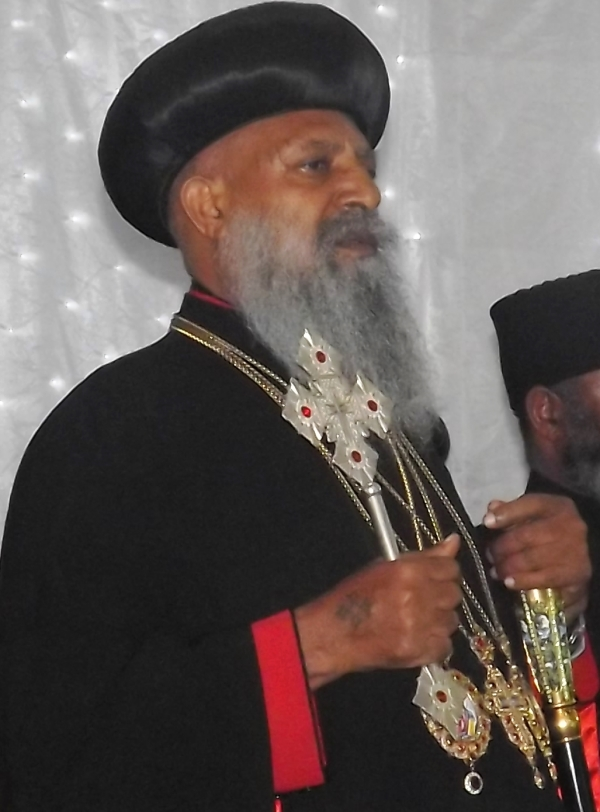His Holiness Abune Mathias
