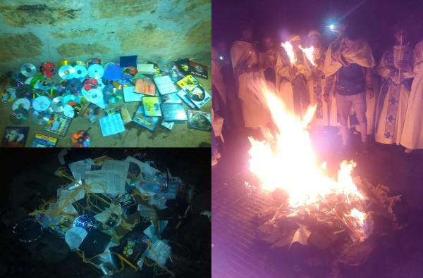 burning of tehedesso publications